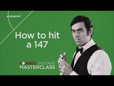 How to hit the 147 A legend techniques Ronnie O' Sullivians