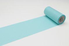 Border Pastel Blue 100mm Washi Masking Tape