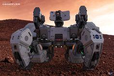 ArtStation - Observer 9 - Mars Unit, Amin Akhshi