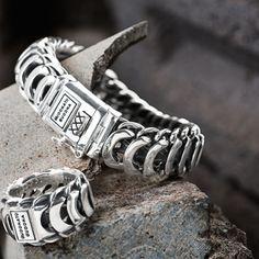 Official Buddha to Buddha webshop Buddha to Buddha Bracelets Mens Gold Bracelets, Metal Jewelry, Cheap Jewelry, Silver Jewellery, Jewelry Ideas, Silver Rings, Jewelry Photography, Best Jewelry Stores, Fashion Rings