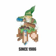 The Legend of Zelda. Since 1986