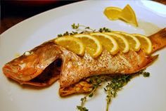 Intelliblog: FOOD FRIDAY - BAKED FISH