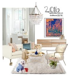 """""""Untitled #68"""" by annie-qiu on Polyvore featuring interior, interiors, interior design, home, home decor, interior decorating, Blu Dot, Mitchell Gold + Bob Williams, Umbra and Baccarat"""