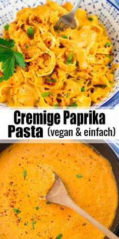 with paprika sauce - Looking for simple recipes? These noodles with paprika sauce are delicious and quickly prepared. On -Pasta with paprika sauce - Looking for simple recipes? These noodles with paprika sauce are delicious and quickly prepared. Paprika Sauce, Roasted Red Pepper Pasta, Red Pepper Sauce Pasta, Whole Food Recipes, Healthy Recipes, Simple Recipes, Recipes Dinner, Cooking Recipes, Vegetarian Recipes