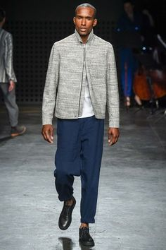 Oliver Spencer Spring 2016 Menswear Collection Photos - Vogue