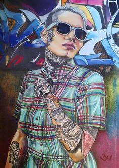 Tats and grafitti