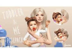 Toddler & Me Pose Pack - The Sims 4 Download - SimsDomination