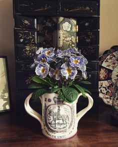 "1,009 Likes, 15 Comments - Jack Laver Brister (@tradchap) on Instagram: ""Flowering its heart out. #interiors #house #flowers #plants #primrose #antiques #interiordesign…"""