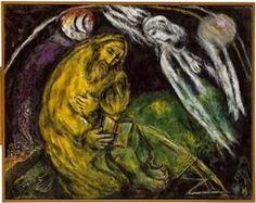 Prophet Jeremiah - Marc Chagall