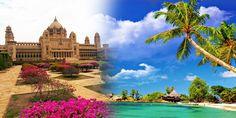 Rajasthan Palaces with Beaches Duration: 14 Nights / 15 Days Destinations Covered: Delhi- Agra- Fatehpur Sikri- Jaipur- Bikaner- Jaisalmer- Jodhpur – Ranakpur - Udaipur - Delhi - Goa - Delhi