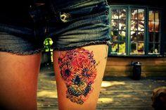 Fonda LaShay » flower skull