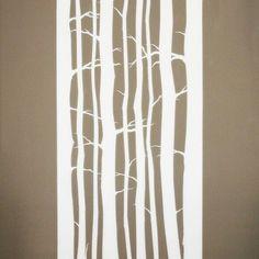White Beech Trees - Dino Olivieri - Trompe l'Oeil 2014 Beech Tree, Love Wallpaper, Trees, Instagram, Wallpaper Of Love, Tree Structure, Wood