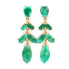 Fashion Jewelry Earrings Online | Buy Earrings Online | Emma Stine ($25) ❤ liked on Polyvore
