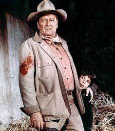 John Wayne with real life son Ethan John Wayne Son, John Wayne Quotes, John Wayne Movies, Iowa, Film Mythique, Westerns, Wayne Family, Maureen O'hara, Actor John