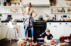 4 Stylish Mom-preneurs Living the Work-Life Dream via @mydomaine