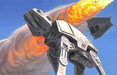 Juxtapoz Magazine - Original Star Wars Concept Illustrations by Ralph McQuarrie