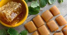 Honey & Lemon Sore Throat Candy Drops
