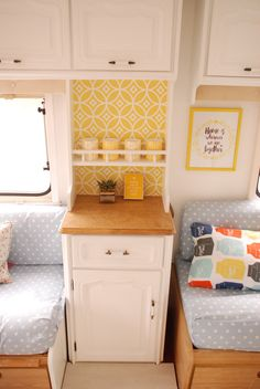 caravan make over | 136 weeks and 6 days | A Caravan Makeover with Wallpaper Direct - The ...