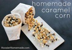 Homemade Caramel Corn :: Recipe on HoosierHomemade.com