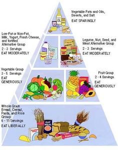 Vegetarian Diet Chart- good to know. Not vegetarian but I have a hard time getting a balanced diet eating only chicken or the occasional piece of salmon. Vegetarian Food Pyramid, Vegetarian Diets, Vegetarian Italian, Cure Diabetes, Diabetes Diet, Diabetes Mellitus, Diet Chart, Balanced Diet, Healthy Living