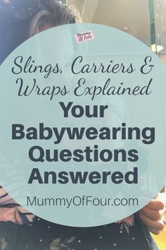 Are you interested in babywearing but not sure where to start? Is your mind boggled by all of the options of slings and carriers available? Read on to have all of your babywearing questions answered. Question And Answer, This Or That Questions, Kangaroo Care, Last Child, Baby Bouncer, Skin To Skin, Emotional Development, Free Advice, Making Life Easier