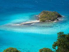 St John, USVI's #1 snorkeling destination, Waterlemon Cay.