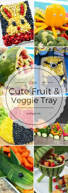 20+ Fruit & Veggie Trays | NoBiggie.net