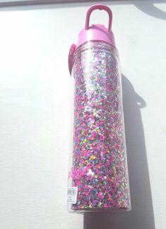 Glitter Water Bottles, Cute Water Bottles, Girly Stuff, Girly Things, Back To School, Christmas Ideas, Jade, Amazon, Drinks