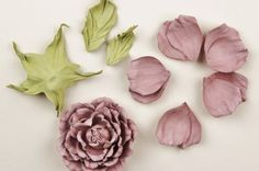 My leather rose tutorial for HATalk e-magazine