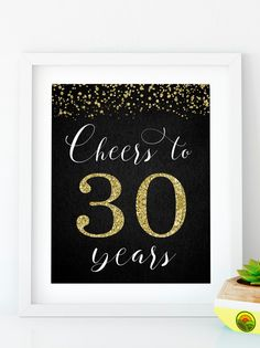 Items similar to Cheers to 40 Years, Anniversary Sign, Birthday Sign, Confetti Gold Birthday Party Decoration, Birthday décor on Etsy Free Happy Birthday Cards, Happy Birthday Signs, Happy Birthday Friend, Gold Birthday Party, Birthday Wishes, Happy 55th Birthday, 65 Birthday, Birthday Greetings, Birthday Gifts