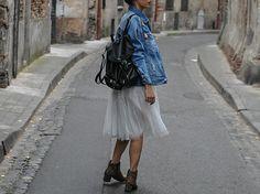 Fashion ,blogger, fashionblogger, mode, outfit, look, streetlook, tutu, shoes, leopard, velo, bici, bike, vintage, sac a dos, bag, hair, street, tutu, dance , caffé, starbuck