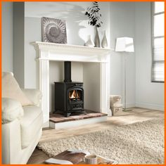 Fire place/wood burning stove! Why not have both.