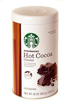 Starbucks Classic Hot Cocoa, 30 Ounce - http://bestchocolateshop.com/starbucks-classic-hot-cocoa-30-ounce/