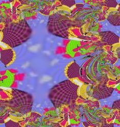 Fractal Series # 5 By Florencia Mittelbach