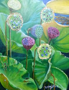 Đài sen - SOLD Botanical Illustration, Botanical Prints, Lotus Painting, Lotus Art, Drawing Wallpaper, Sharpie Art, Water Art, Abstract Flowers, Chinese Painting