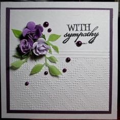 FS371, Sympathy_vg by Vicky Gould - Cards and Paper Crafts at Splitcoaststampers