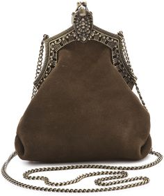 c5bbd96c2ca8 House of Harlow 1960 - Green Rey Suede Bag - Lyst
