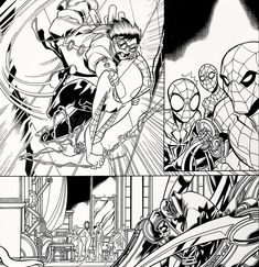 WEB WARRIORS for Marvel Comics. Pencils: David Baldeon, Inks: Walden Wong Sub me on www.youtube.com/WaldenWongArt . #marvel #marvelcomics #anime #manga #sketch #inker #comics #spiderman #spiderverse #illustration #arts #artwork #micron #spidergwen #comics #artworks #MCU #artwork #art #artist #draw #drawing #illustrate #arte #inking #inks #draweveryday #picoftheday #fineliner #doodleart #drawingoftheday #comicart