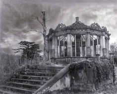 Abandoned places - Orangery located in Dalkeith, Midlothian Scotland