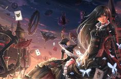 alice in wonderland alice madness return cheshire cat by dantewontdie mangaka anime wallpaper This is one amassing alice in wonderland anime wallpapers. They where all made by wonderful mangaka artist. I am certain you will like this lil anime pictures a lot. Lets just more right along shall we. Pretty darlings. - photo at Anime kida