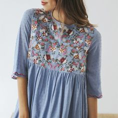 Embroidered Dress Collection | Jane