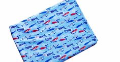 Stoff fabric Fische fish jersey