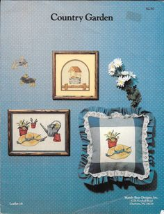 Country Garden by Bonnie Sernesky on Etsy