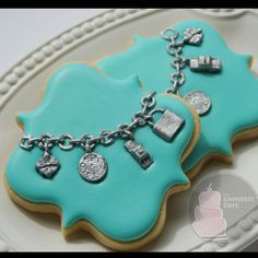 Tiffany charm bracelet cookie