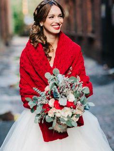abito da sposa in inverno