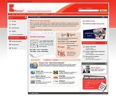 Romec's Intranet Design by interact intranet, via Flickr