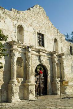 El Álamo en San Antonio. Inmensa belleza histórica.