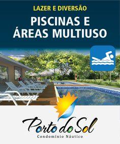 Placa Porto do Sol - Piscinas