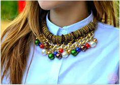 Resultado de imagen para collares de moda 2014