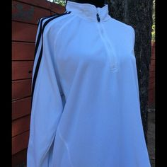 Adidas Clima-Lite zip shirt large Great condition! Adidas Tops